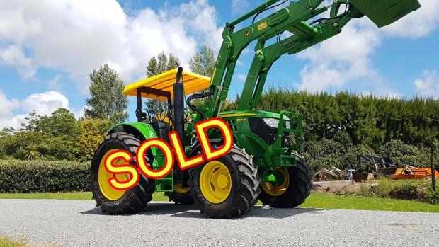 john deere 6105m tractor fwa/4wd