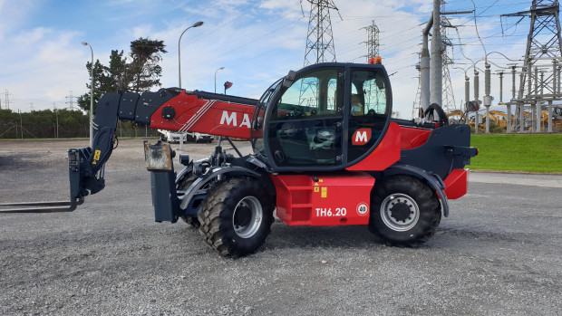 magni th6.20 telescopic handler telescopic handler