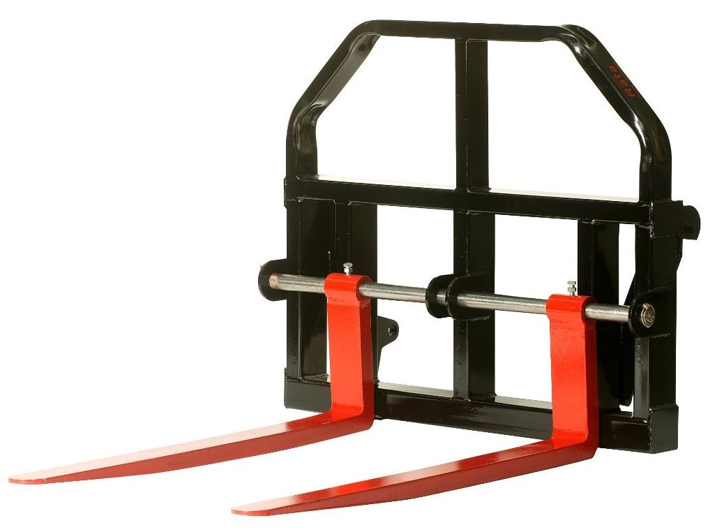 telehandler adjustable pallet forks 2500kg attachments pallet forks