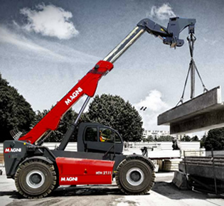 Heavy Lift Telehandlers