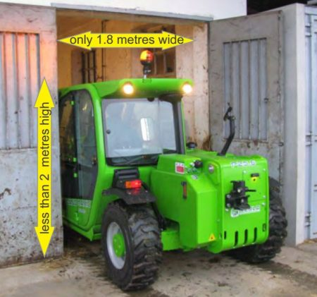 Merlo Telehandler for Hire 2.6ton lift x 6m