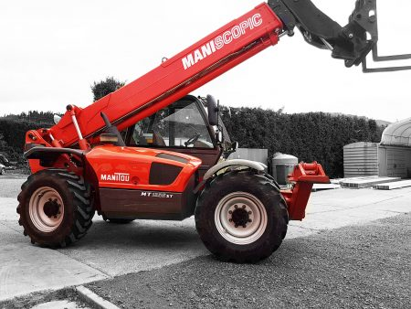 Manitou 12 Metre Telehandler for hire