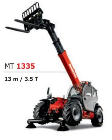 13 Metre Manitou Telehandler for Hire