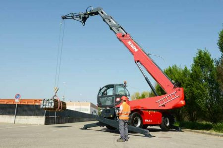 Rotating Telehandler with 360 Degree Slew