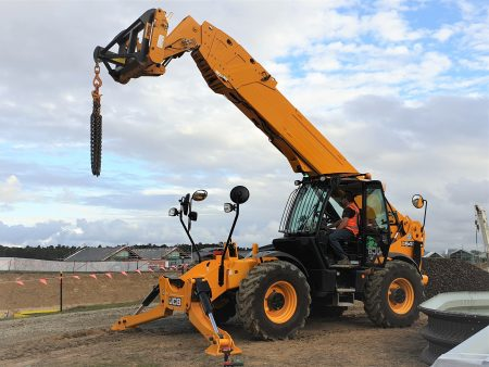JCB 20m Telehandler for hire NZ